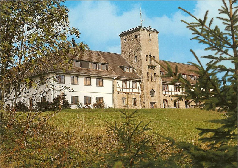 Bild: Geschichte des Jugendhof Finkenbergs