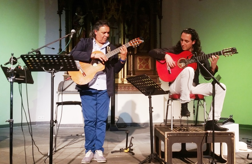 Bild: Konzert mit GONZALEZ und Daniel de Alcalá