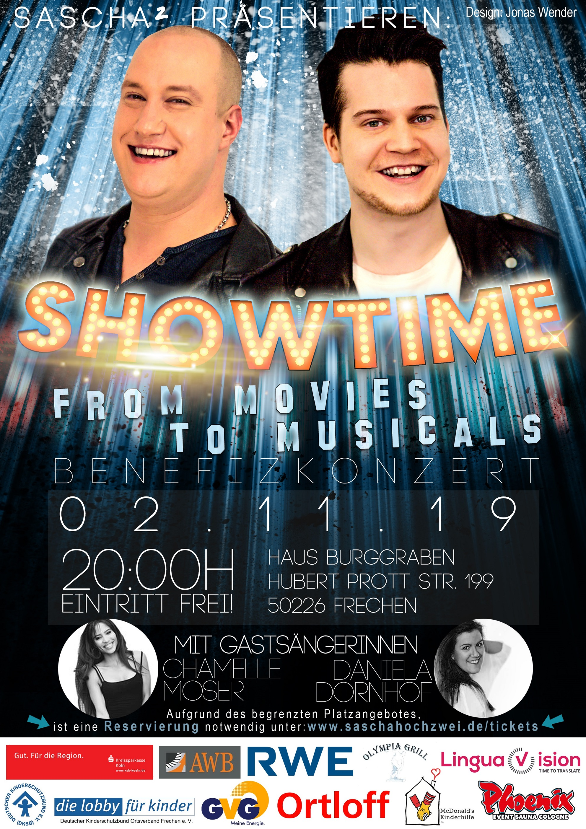 Bild: Plakat SHOWTIME: From Movies to Musicals