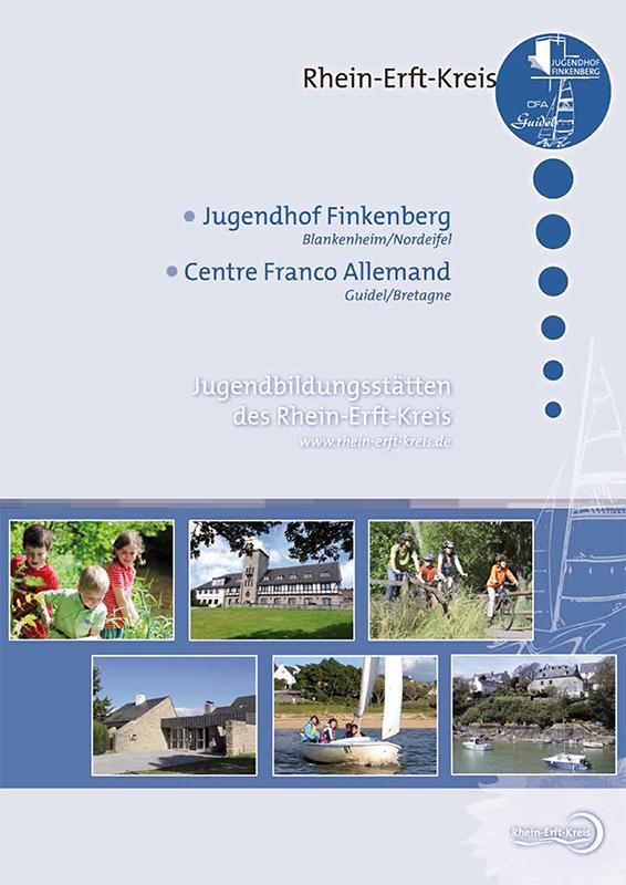 Broschüre Jugendbildungsstätten des Rhein-Erft-Kreises