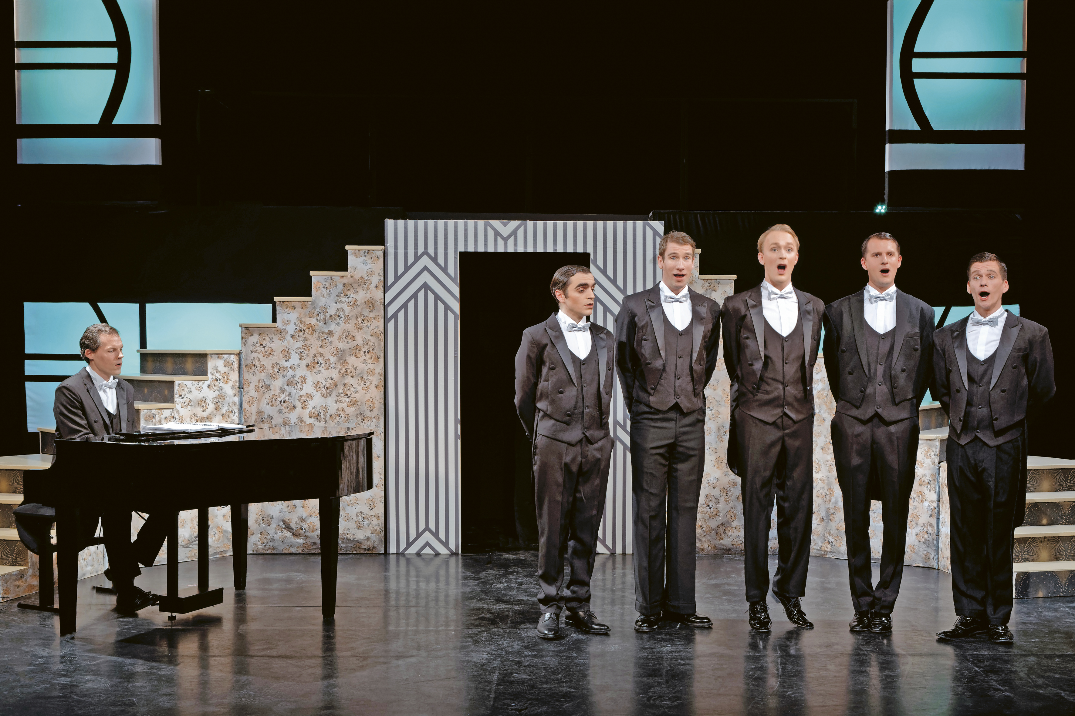 Bild: Die Comedian Harmonists in der Kammeroper Köln.