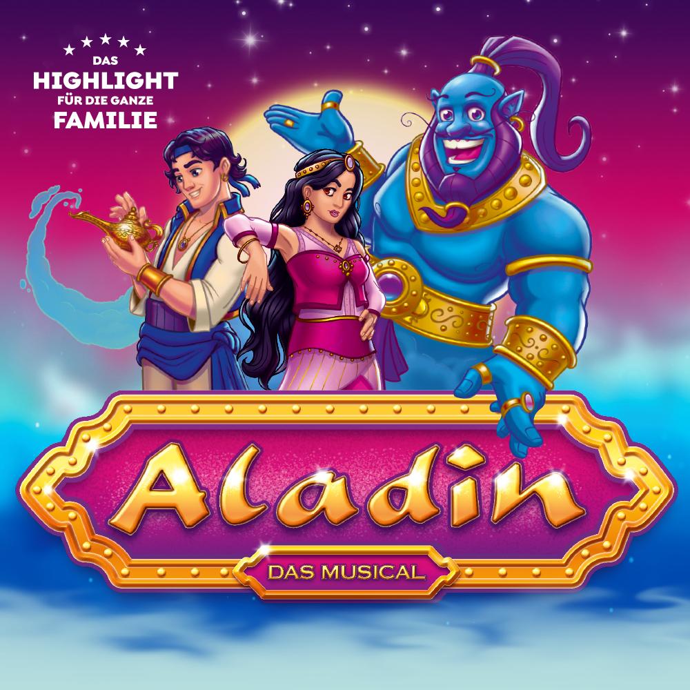 "Bild: Plakat \""Aladin - das Musical\"""